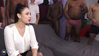 Dirty MILFs get anal sex and more