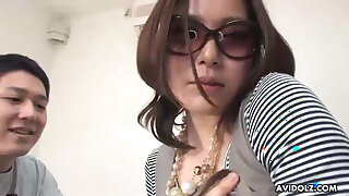Japanese darling, Rika Nanami got creampied, uncensored