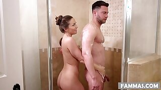 Stepsister massage - Abigail Mac