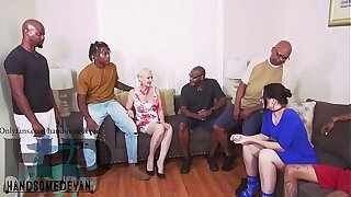 MY uncle brought my cousins and i to fuck two white cougars  (Christina safire , seka blac ,Mr. nutts ,Wayne wood ,Jonathan jordan , Ralph horn , handsomedevan, neal stroker)