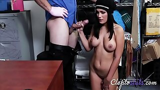 Horny Cop Gets To Fuck Hot Teen- Blackmailed Sextape- Alina Belle