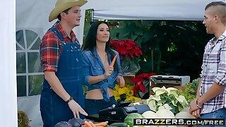 Brazzers - Real Wife Stories -  The Farmers Wife scene starring Eva Lovia and Xander Corvus