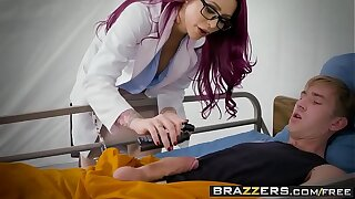 Brazzers - Doctor Adventures -  Jailhouse Fuck Three scene starring Monique Alexander and Danny D