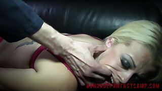 Nadia White and Drea Vanilla and Chocolate BDSM 1b