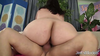 Jeffs Models - Fat Latina Angelina Cowgirl Compilation 5