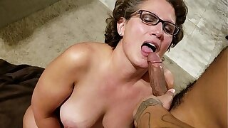 Denise Gets a Creampie from Denzel in Front of Her Husband