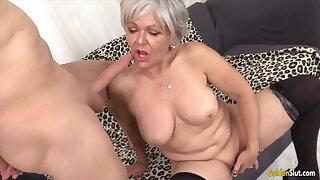 Golden Slut - Older Lady Blowjob Compilation Part 19