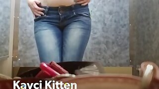 Kayci Kitten: Dressing Room Peep Show