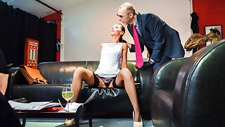 FORBONDAGE - Bondage Butt Fisting For German Lady July Sun