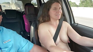 I like seeing how many drivers look at my tits