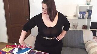 The perfect big tits BBW body