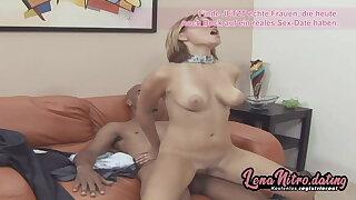 Hot chick craves for her black big cock! LenaNitro.dating